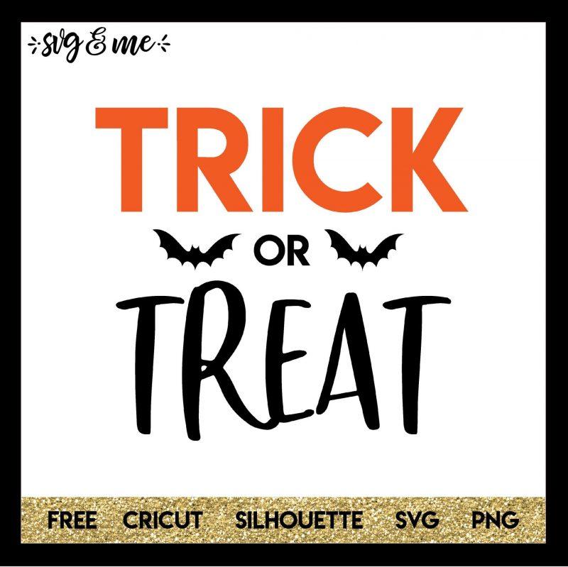 Trick Or Treat Halloween Svg Svg Me