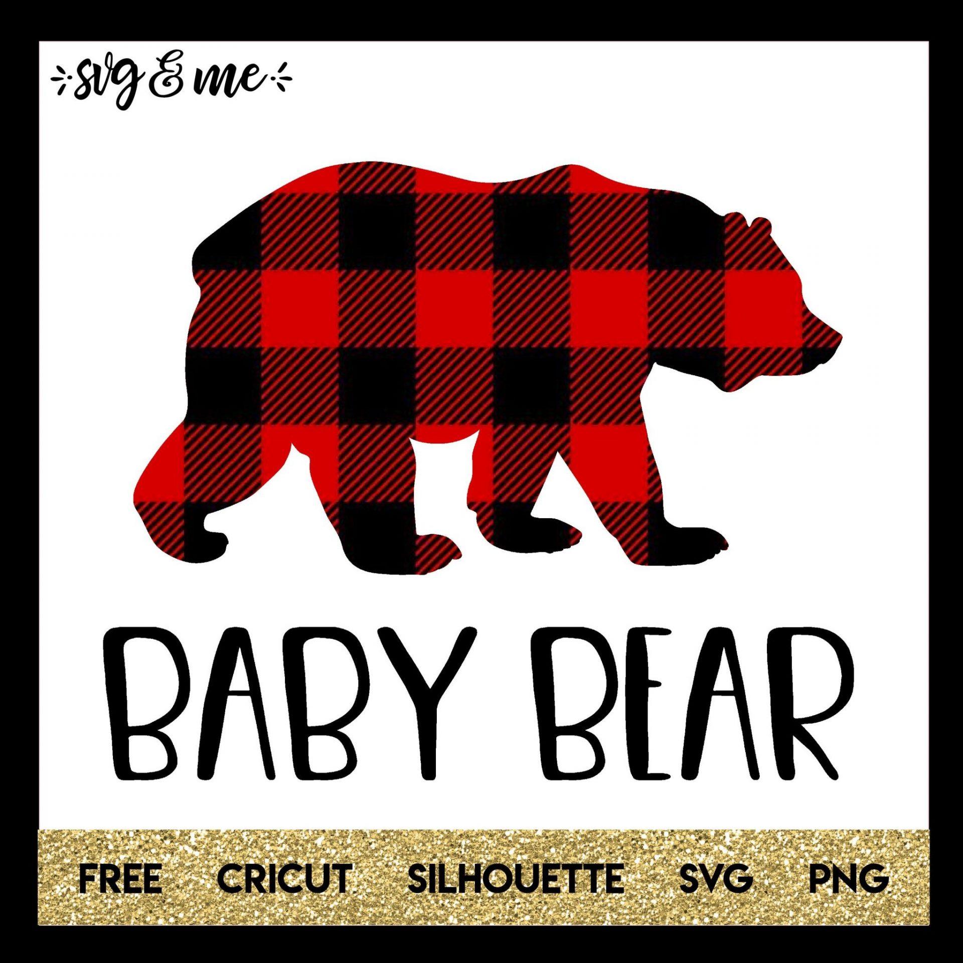 Svg \u2022 Png \u2022 Eps \u2022 Dxf \u2022 Jpg \u2022 Download Silhouette etc For Cricut 4 Baby Bear SVG Designs DONATES to ANIMALS Print and Cut File