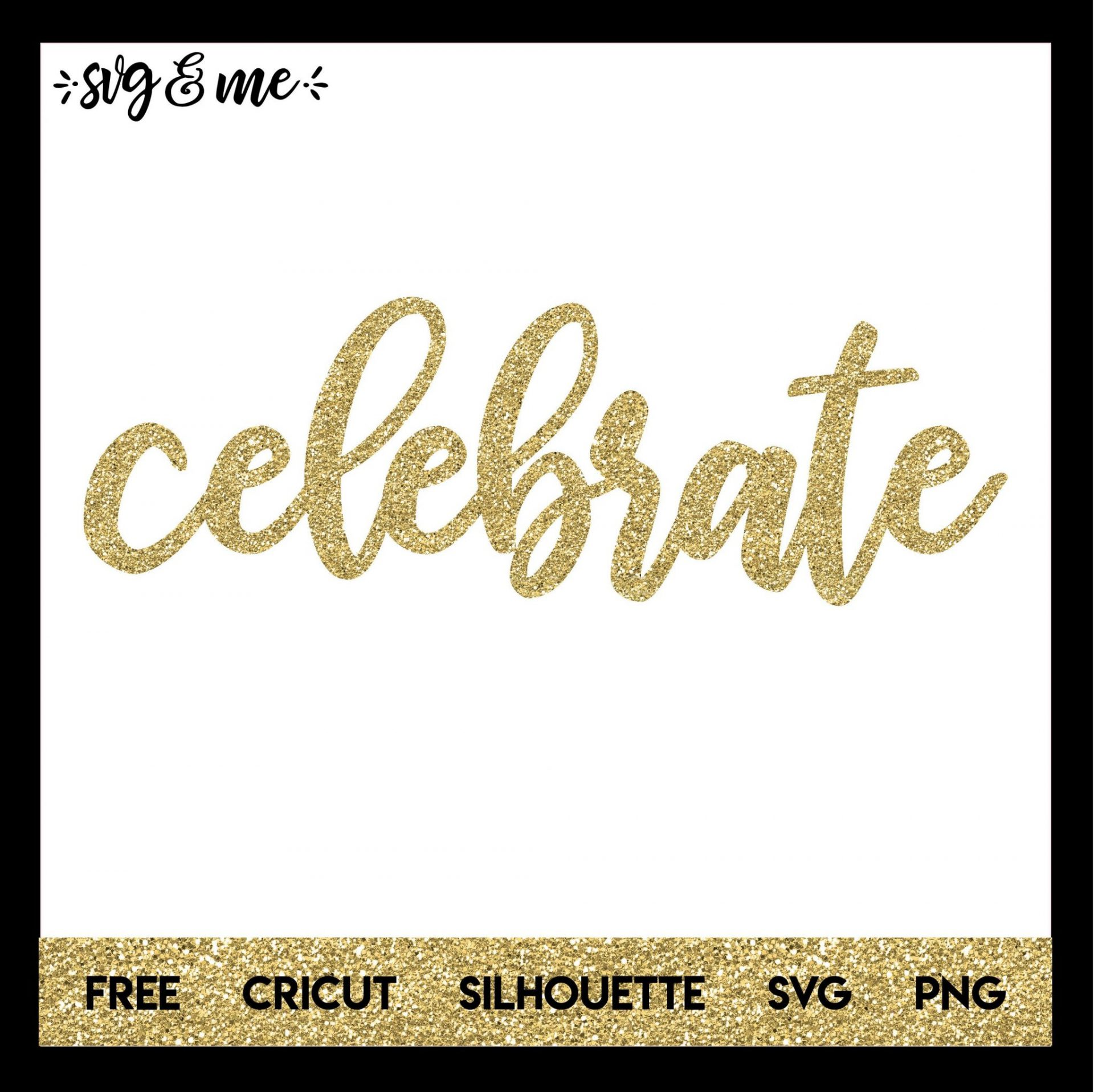 FREE SVG CUT FILE for Cricut, Silhouette and more - Happy Birthday Cake Topper SVG