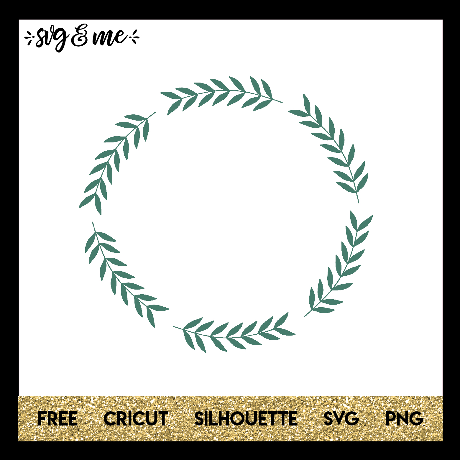 laurel wreath svg me