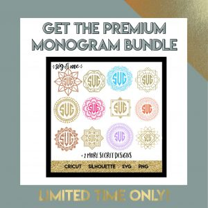 Monogram Bundle - Limited Time Only 60% Off