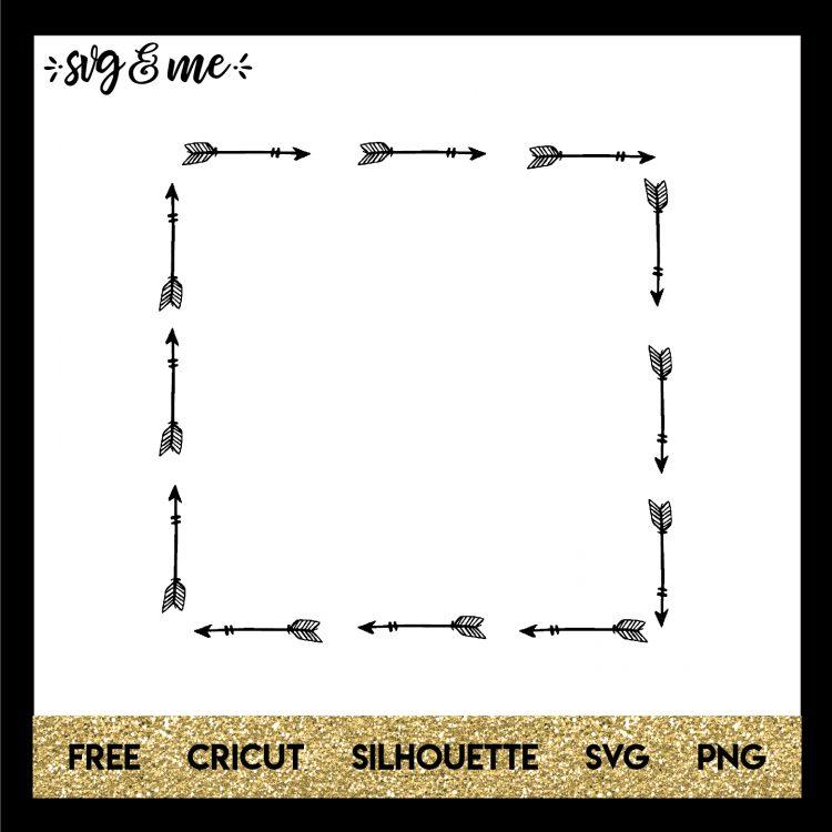 square arrow frame