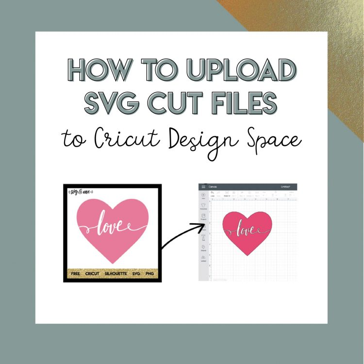 How to Upload a SVG to Cricut Design Space - SVG & Me