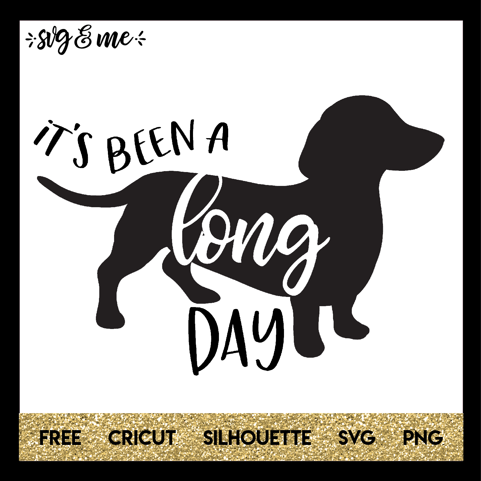 Download FREE SVG CUT FILE for Cricut, Silhouette - Long Day ...