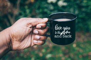Love You to the Mountains and Back DIY Mug