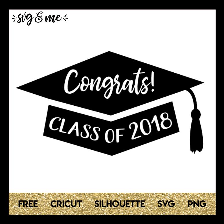 congrats cap graduation svg me
