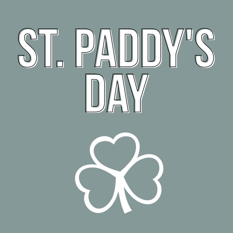 st patricks day category header