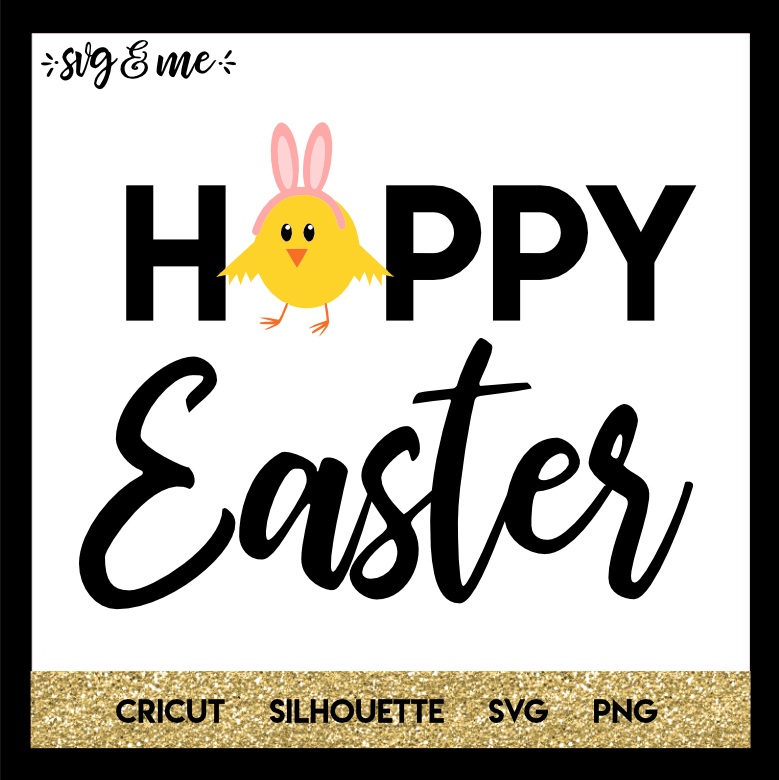 FREE SVG CUT FILE for Cricut, Silhouette and more - Hoppy Easter