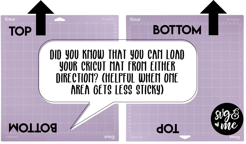 Genius Cricut Hack: Load From Either Direction