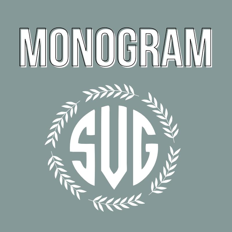 monogram header