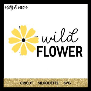 FREE SVG CUT FILE for Cricut, Silhouette and more - Wildflower Boho SVG