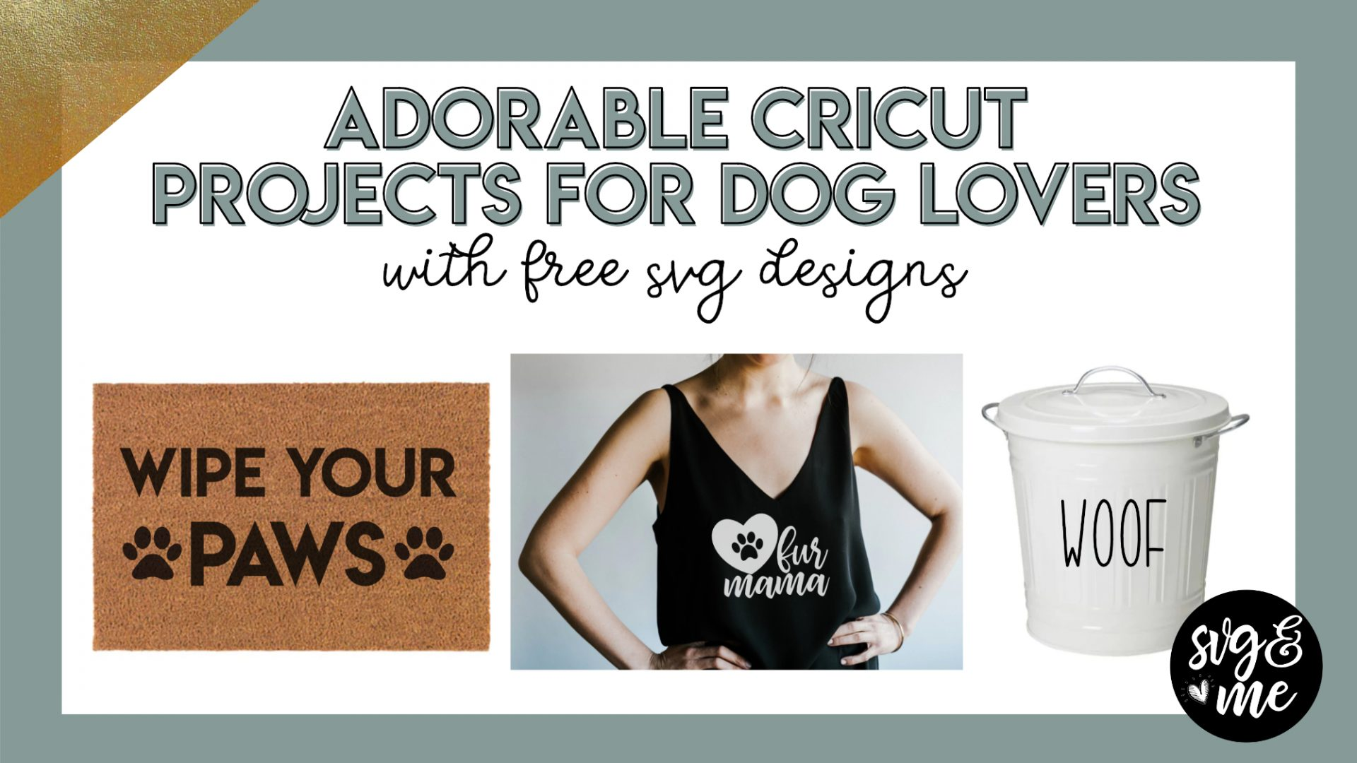 cricut projects for dog lovers