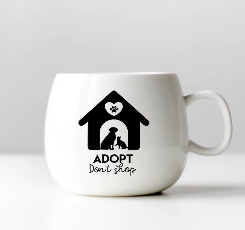 DIY Animal Rescue Mug: Cricut Projects Every Dog Lover Will Want