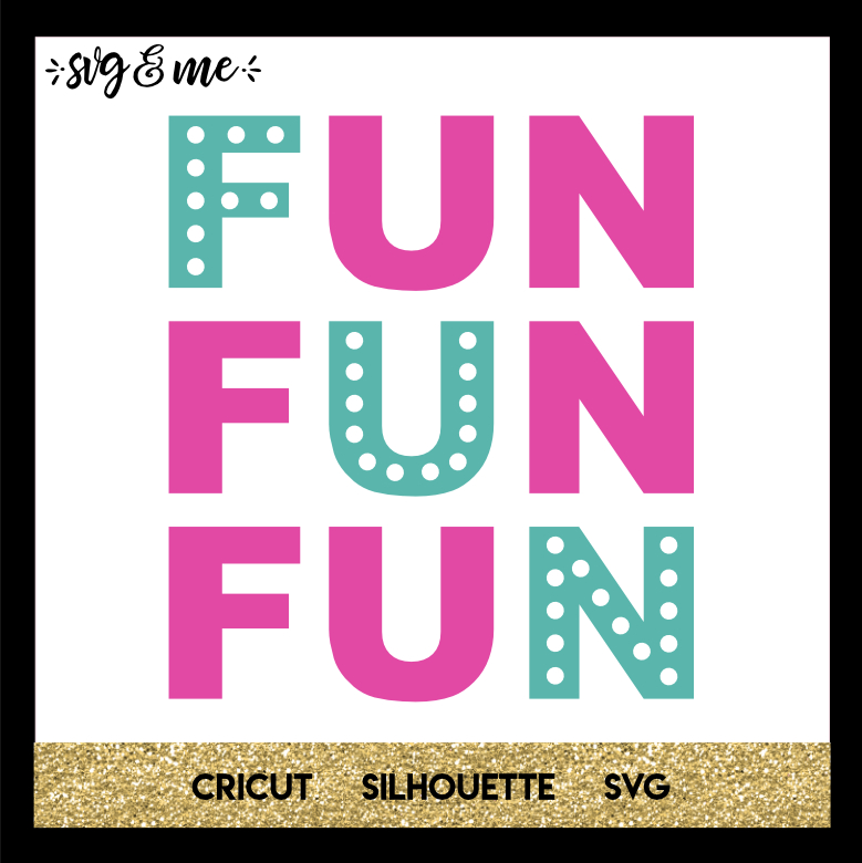 FREE SVG CUT FILE for Cricut, Silhouette and more - Summer Fun SVG