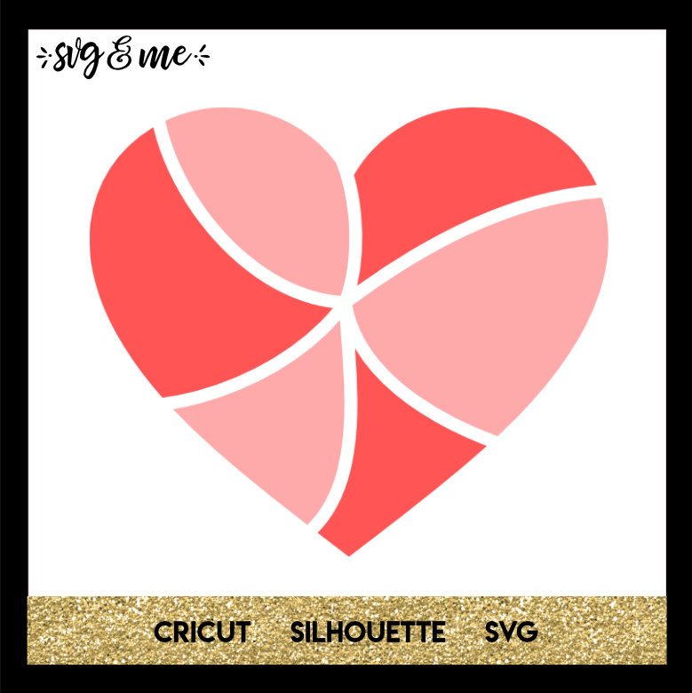 FREE SVG CUT FILE for Cricut, Silhouette and more - Heart Swirl Love SVG