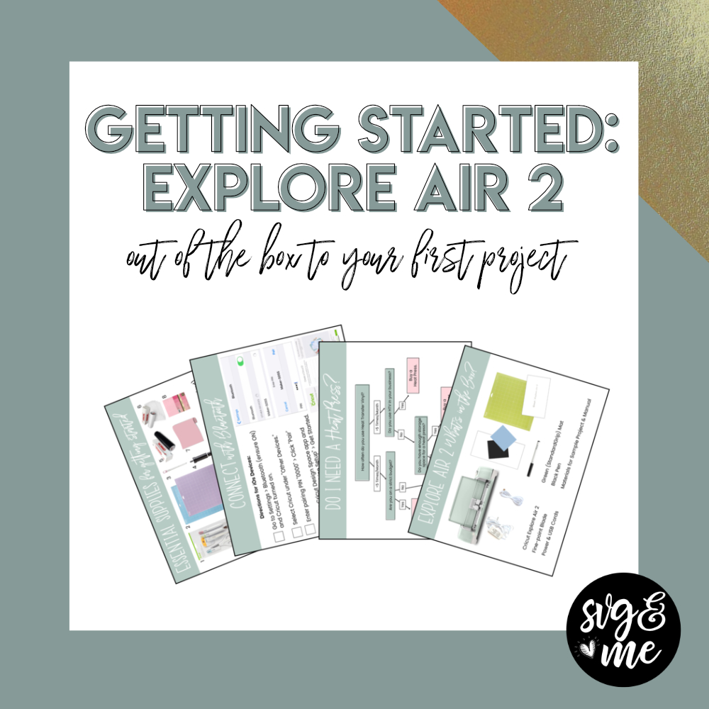 Download How to Get Started with Your New Cricut Explore Air 2 for ...